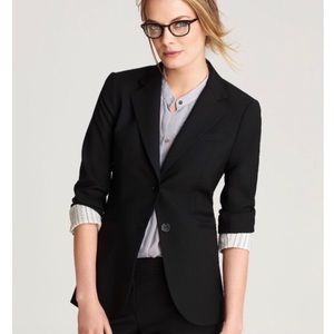 Theory Black Rowan Tailor Jacket Blazer